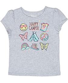 Toddler Girls Camp Things T-shirt