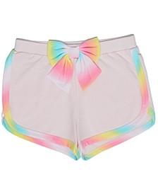 Little Girls Rainbow Knit Short