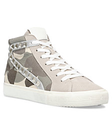 Steve Madden Women's Tracey Studded High-Top Sneakers
