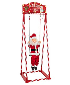 Mr Christmas Animated Swinging Santa