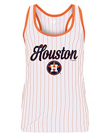 Women's Houston Astros Pinstripe Tank