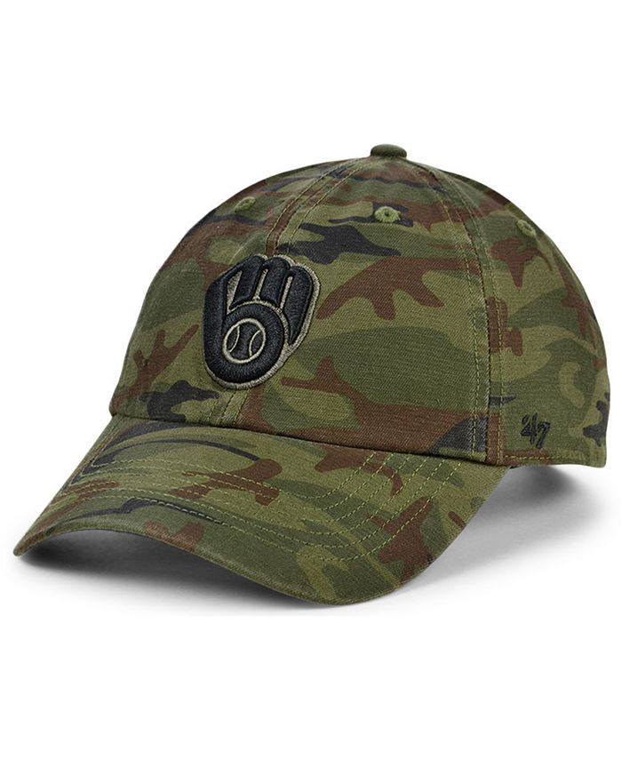 '47 Brand - Milwaukee Brewers Regiment CLEAN UP Cap