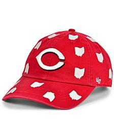 Cincinnati Reds Women's Confetti Adjustable Cap