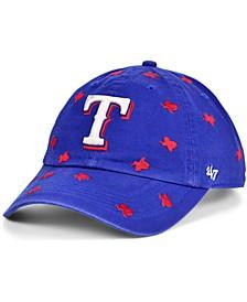 Women's Texas Rangers Confetti Adjustable Cap