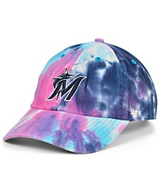 Women's Miami Marlins Tie Dye Adjustable Cap