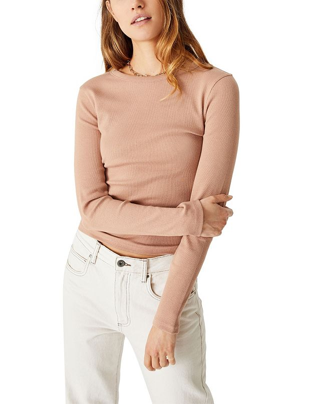 COTTON ON The Turn Back Long Sleeve Top