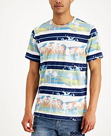 Men's Scenic Striped T-Shirt, Created for Macy's