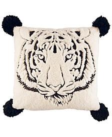 "Betsey's Tiger Throw Pillow, 20"" x 20"""