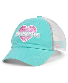 Girls Los Angeles Dodgers Mermaid Heart MVP Cap