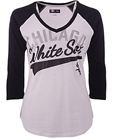 G-III Sports Women's Chicago White Sox Its A Game Raglan T-Shirt
