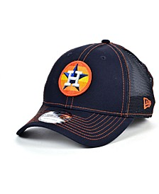 Houston Astros Logo Fill Trucker 9FORTY Cap