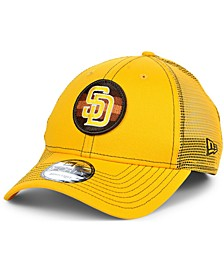 San Diego Padres Logo Fill Trucker 9FORTY Cap