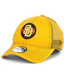 New Era San Diego Padres Logo Fill Trucker 9FORTY Cap