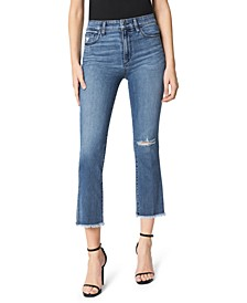 The Callie High Rise Cropped Bootcut Jeans
