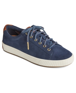 Sperry ANCHOR PLUSHWAVE LACE-UP SNEAKERS WOMEN'S SHOES