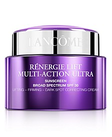Rénergie Lift Multi-Action Ultra Face Cream SPF 30, 2.5-oz. A $163.00 Value!