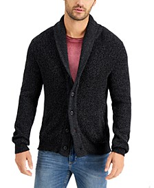 Men's Shaker Button Cardigan