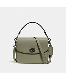 Polished Pebbled Leather Cassie Crossbody 19