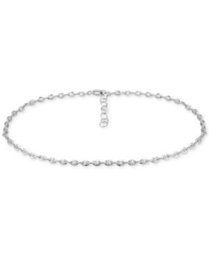 Mariner Link Ankle Bracelet in Sterling Silver and 18k Gold Over Silver