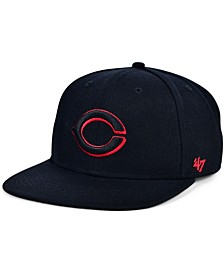 Cincinnati Reds Bright Red Shot Snapback Cap