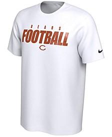 Chicago Bears Men's Dri-Fit Cotton Football All T-Shirt