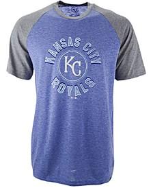 Men's Kansas City Royals Tri-Blend Raglan T-Shirt