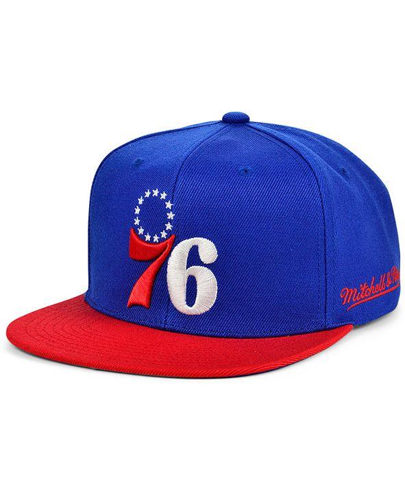 Mitchell & Ness Philadelphia 76ers The Drop Snapback Cap