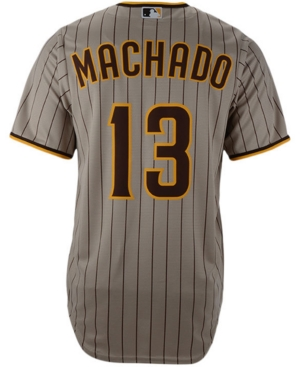 Nike Men's Manny Machado San Diego Padres Official Player Replica Jersey