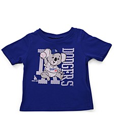 Toddler Baby Los Angeles Dodgers MLB Mascot T-Shirt