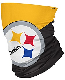 Pittsburgh Steelers Colorblock Big Logo Gaiter Scarf