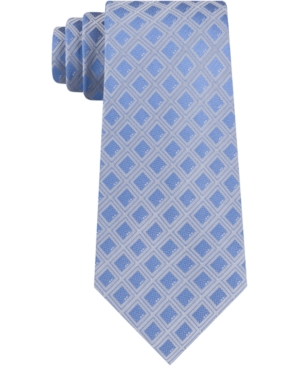 Kenneth Cole Reaction Men's Dice Geometric Skinny Tie