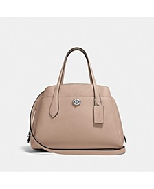 Polished Pebble Leather Lora Carryall 30