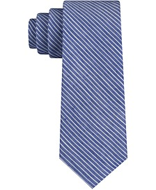 Men's Morgan Stripe Skinny Tie