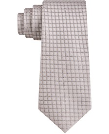 Men's Fixture Grid Skinny Tie