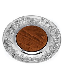Holiday Metal & Wood Cheeseboard