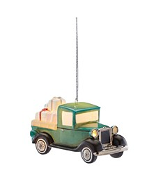 Light-Up Vintage Truck Ornament