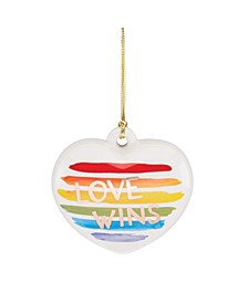 Love Wins Pride Ornament