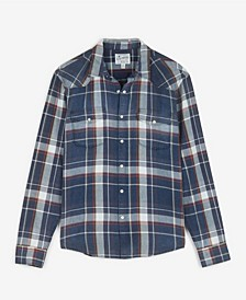 Men's Indigo Santa Fe Western Long Sleeve Shirt