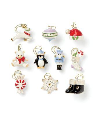Christmas Memories 10-Piece Ornament Set