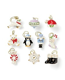 Christmas Memories 10-Piece Ornament Set