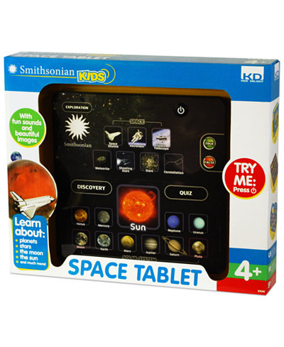 Kidz Delight Toy, Smithsonian Kids Space Tablet