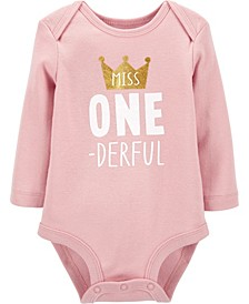 Baby Girl First Birthday Collectible Bodysuit