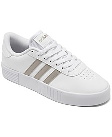 Women's Court Bold Platform Casual Sneakers from Finish Line