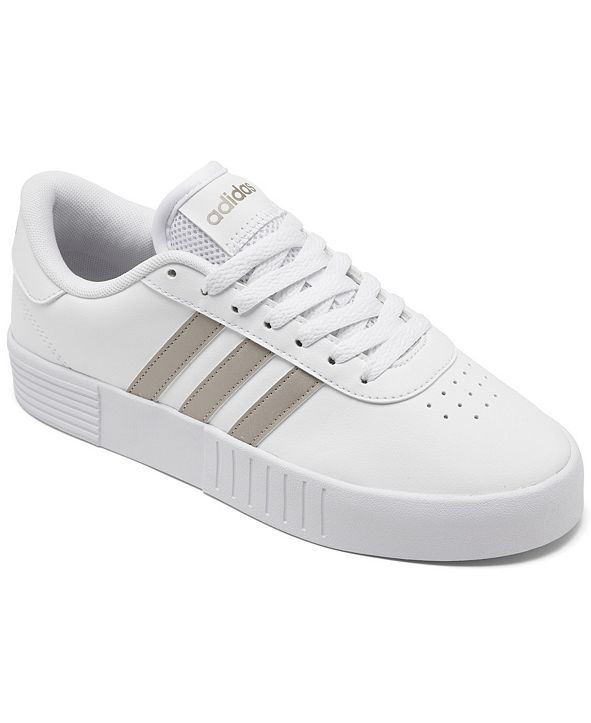 adidas Women's Court Bold Platform Casual Sneakers from Finish Line