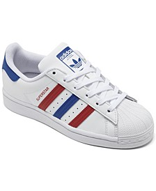 Boys Superstar Casual Sneakers from Finish Line