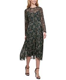 Paisley Vivette Midi Dress