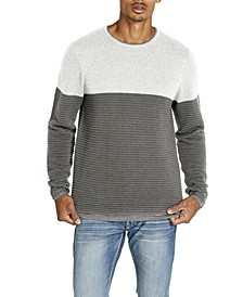 Warib Striped Ripple Men's Sweater
