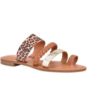 Nine West Hollah Flat Sandals Women s Shoes E559