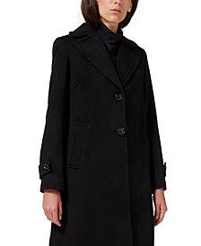 Sam Edelman Single-Breasted Walker Coat, Created for Macy's