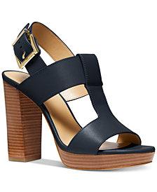 Michael Michael Kors Becker T-Strap Slingback Sandals